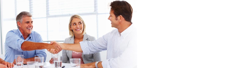 Unternehmens-Broker - Experten in Unternehmensbewertung und Unternehmensverkauf im Beratungsgespräch