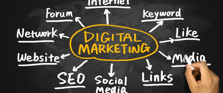 Digitales Marketing für den Verkauf eines Webshops