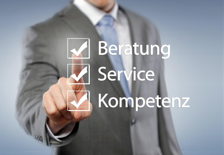 Beratung, Service, Kompetenz