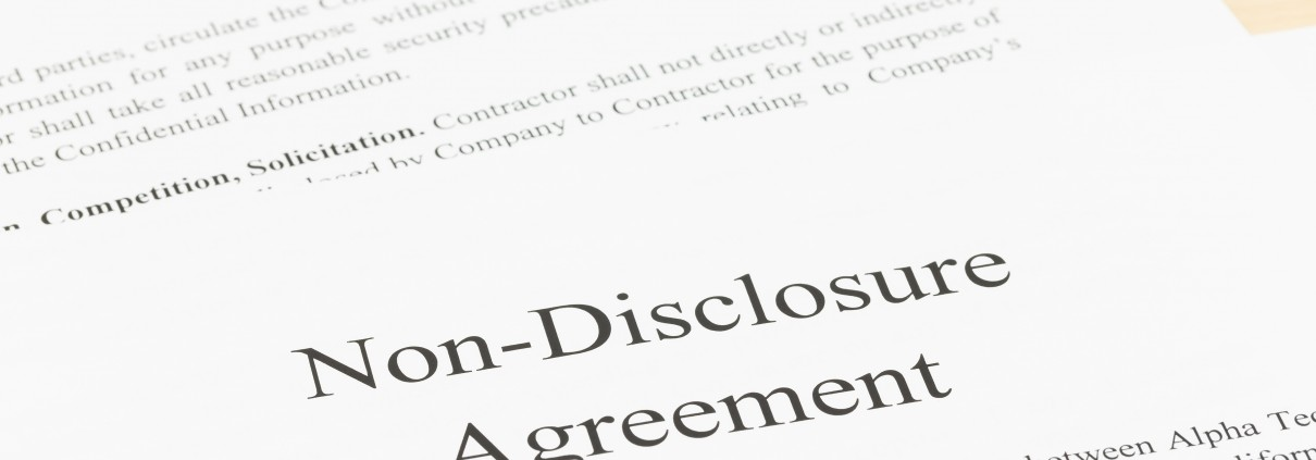 Die Vertraulichkeitsvereinbarung Beim Unternehmensverkauf