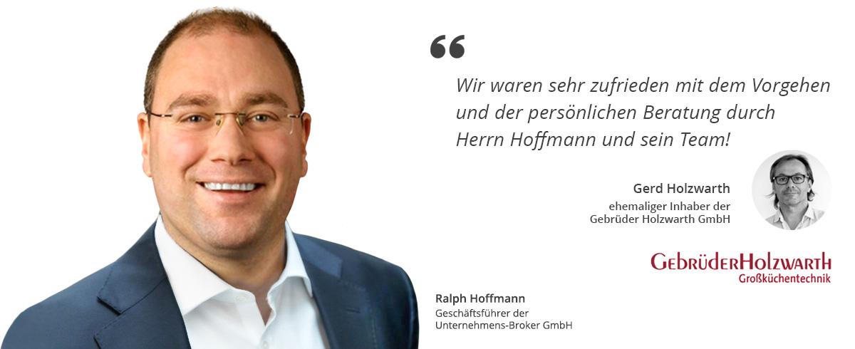 Ralph Hoffmann Unternehmens-Broker